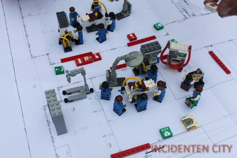 3 BHV LEGO OK opstelling incidentencity table top bhv